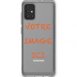 Coque transparente pour Samsung Galaxy A71 personnalisée