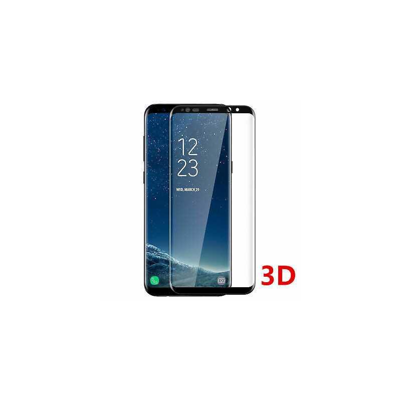 Vitre protection / Verre trempé 3D incurvé Samsung Galaxy S20