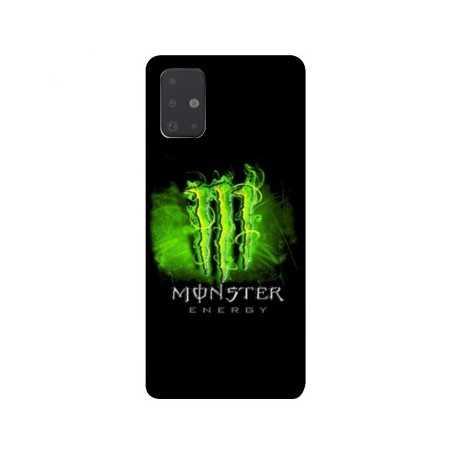 Coque pour Samsung Galaxy A51 4G Monster Energy Vert