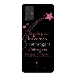 Coque pour Samsung Galaxy A51 Humour princesse