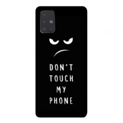 Coque pour Samsung Galaxy A51 Humour don't touch