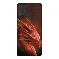 Coque pour Samsung Galaxy A51 Dragon Rouge