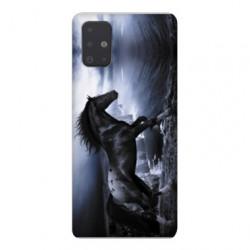 Coque pour Samsung Galaxy A51 Cheval