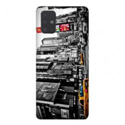 Coque pour Samsung Galaxy A51 Amerique USA New York Taxi