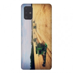 Coque pour Samsung Galaxy A71 Agriculture Moissonneuse