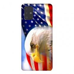 Coque pour Samsung Galaxy A71 Amerique USA Aigle