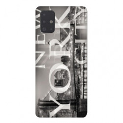 Coque pour Samsung Galaxy A71 Amerique USA New York