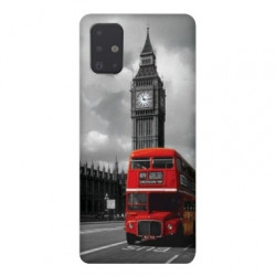 Coque pour Samsung Galaxy A71 Angleterre London Bus