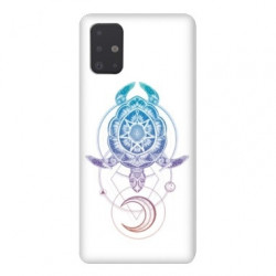 Coque pour Samsung Galaxy A71 Animaux Maori tortue color