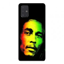 Coque pour Samsung Galaxy A71 Bob Marley 2