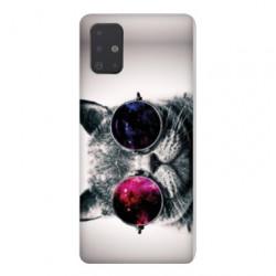 Coque pour Samsung Galaxy A71 Chat Fashion