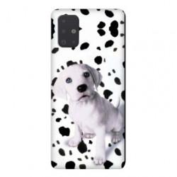 Coque pour Samsung Galaxy A71 Chien dalmatien