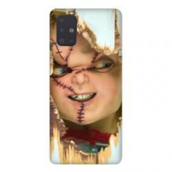 Coque pour Samsung Galaxy A71 Chucky Blanc