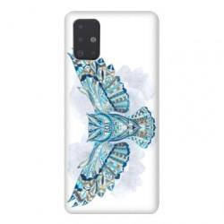Coque pour Samsung Galaxy A71 Ethniques Hibou B