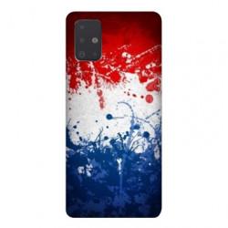 Coque pour Samsung Galaxy A71 France Eclaboussure