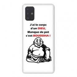 Coque pour Samsung Galaxy A71 Humour Bouddha