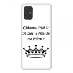 Coque pour Samsung Galaxy A71 Humour Moi chiante