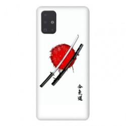 Coque pour Samsung Galaxy A71 Japon épée