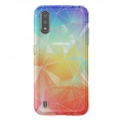 Coque transparente pour Samsung Galaxy A01 Origami