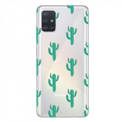 Coque transparente pour Samsung Galaxy A71 Cactus