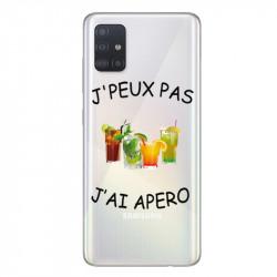 Coque transparente pour Samsung Galaxy A71 jpeux pas jai apero