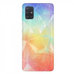 Coque transparente pour Samsung Galaxy A71 Origami