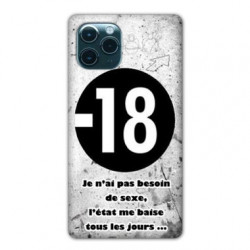 Coque pour Samsung Galaxy S20 ULTRA Humour 18 ans