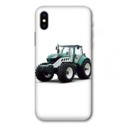 Coque pour Samsung Galaxy A01 Agriculture Tracteur Blanc