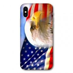 Coque pour Samsung Galaxy A01 Amerique USA Aigle