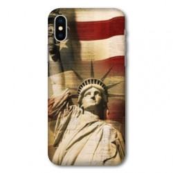 Coque pour Samsung Galaxy A01 Amerique USA Statue liberté