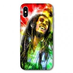 Coque pour Samsung Galaxy A01 Bob Marley Color
