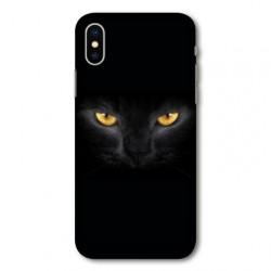 Coque pour Samsung Galaxy A01 Chat Noir