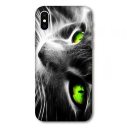 Coque pour Samsung Galaxy A01 Chat Vert