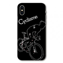 Coque pour Samsung Galaxy A01 Cyclisme Ombre blanche
