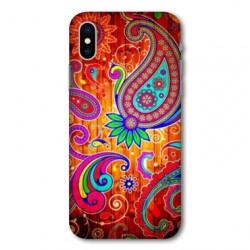 Coque pour Samsung Galaxy A01 fleur psychedelic
