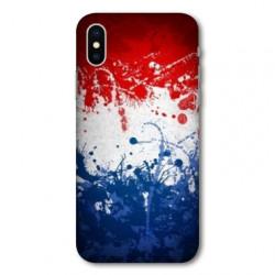 Coque pour Samsung Galaxy A01 France Eclaboussure