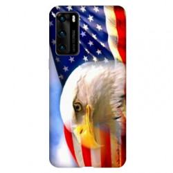 Coque pour Huawei P40 Amerique USA Aigle