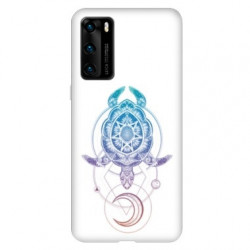 Coque pour Huawei P40 Animaux Maori tortue color
