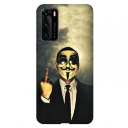 Coque pour Huawei P40 Anonymous doigt
