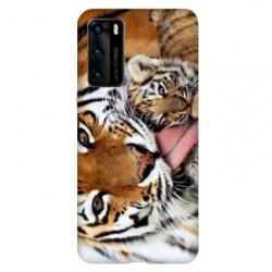 Coque pour Huawei P40 bebe tigre