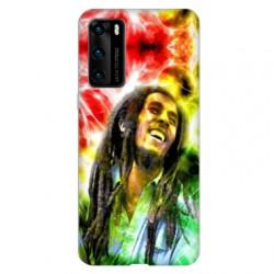 Coque pour Huawei P40 Bob Marley Color