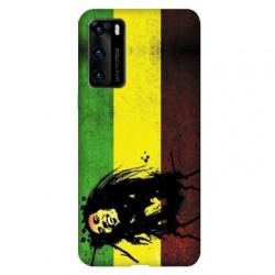 Coque pour Huawei P40 Bob Marley Drapeau