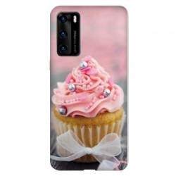 Coque pour Huawei P40 Cupcake