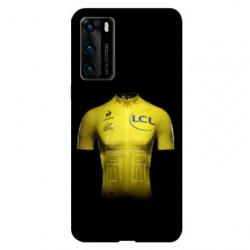 Coque pour Huawei P40 Cyclisme Maillot jaune