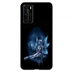 Coque pour Huawei P40 Fee Bleu