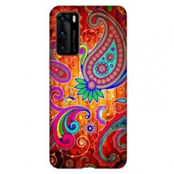 Coque pour Huawei P40 fleur psychedelic