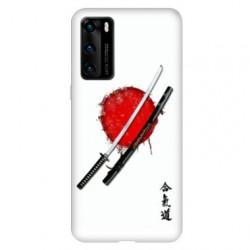 Coque pour Huawei P40 Japon épée