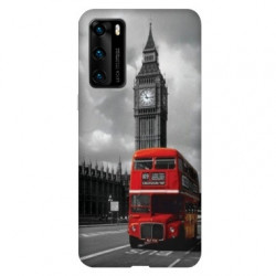 Coque pour Huawei P40 PRO Angleterre London Bus