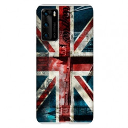 Coque pour Huawei P40 PRO Angleterre UK Jean's