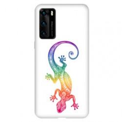 Coque pour Huawei P40 PRO Animaux Maori Salamandre color